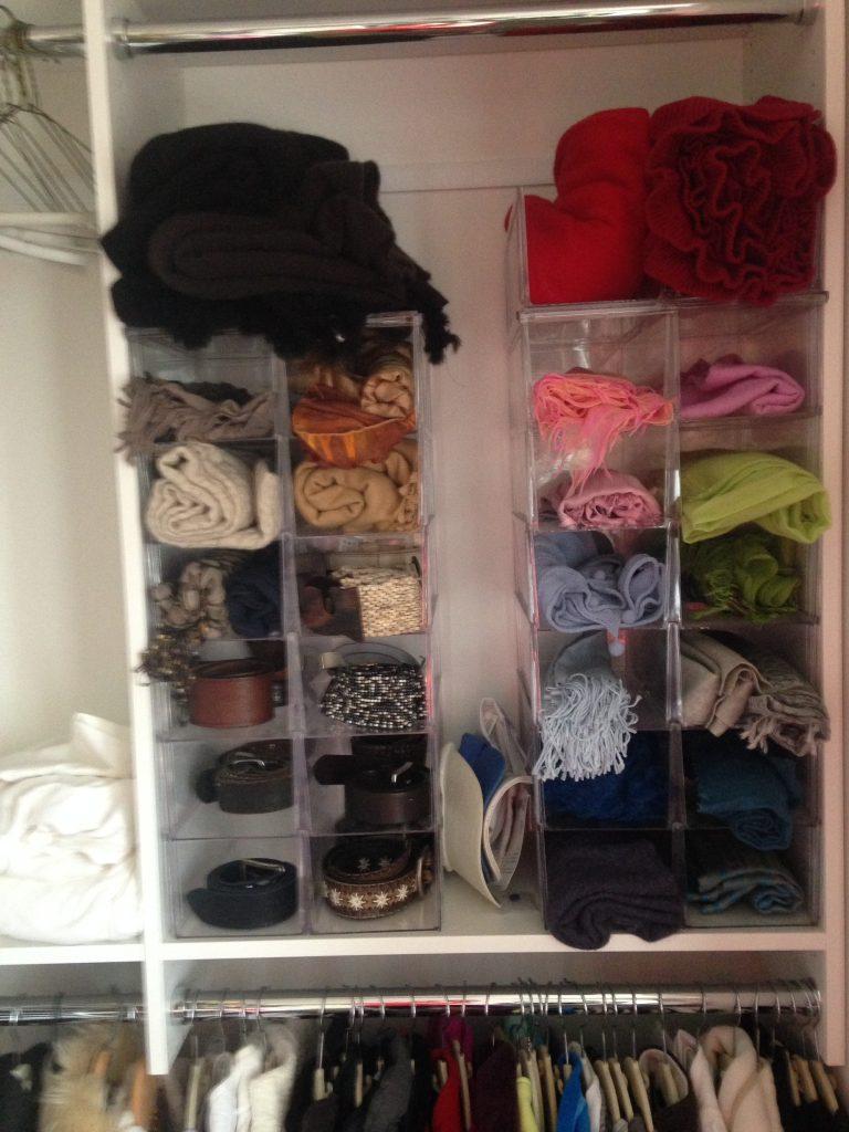 closet declutter, closet, closet clutter, messy closet